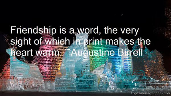 Augustine Birrell Quotes