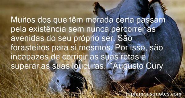 Augusto Cury Quotes