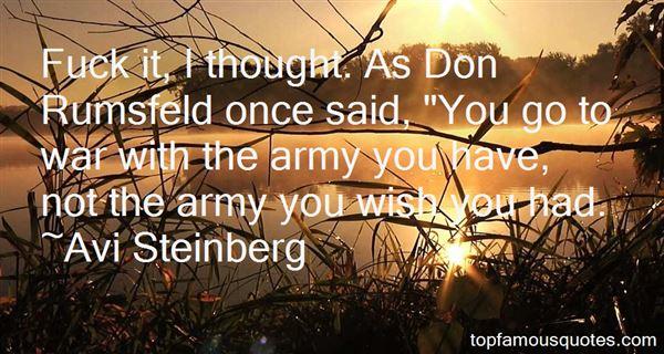 Avi Steinberg Quotes