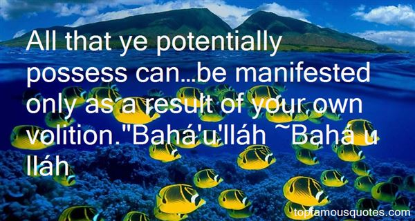 Bahá U Lláh Quotes