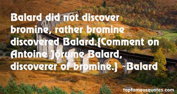 Balard Quotes