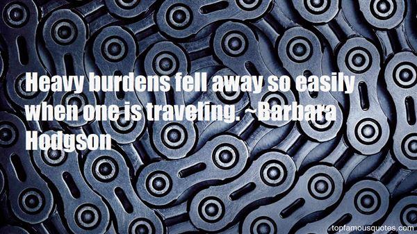 Barbara Hodgson Quotes