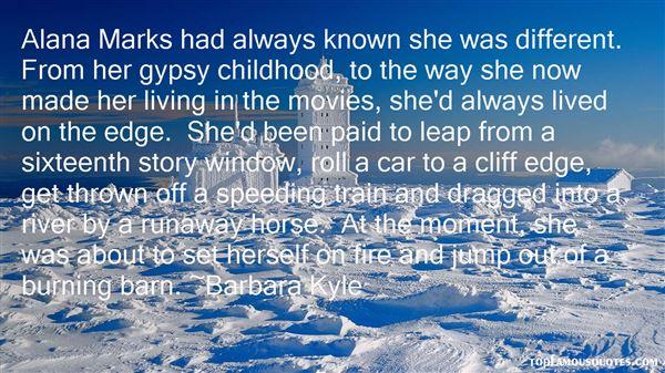 Barbara Kyle Quotes