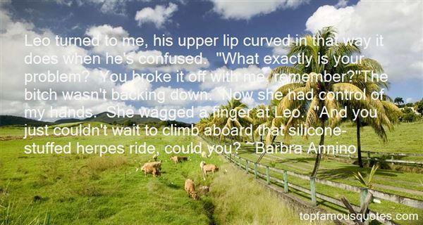 Barbra Annino Quotes