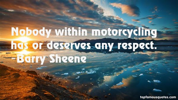 Barry Sheene Quotes