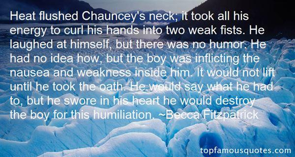 Becca Fitzpatrick Quotes