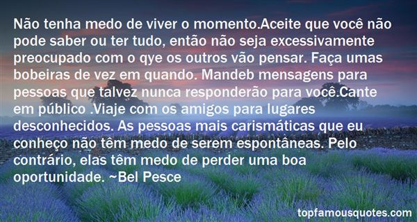 Bel Pesce Quotes