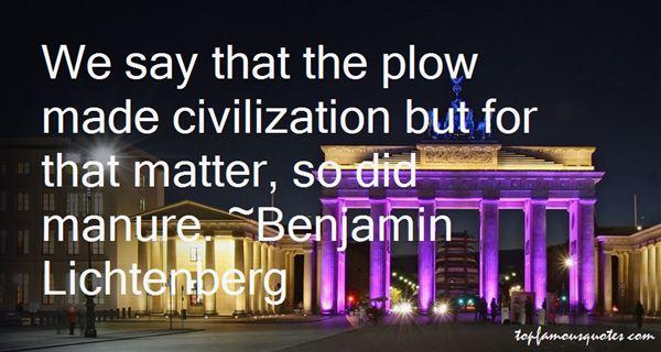 Benjamin Lichtenberg Quotes