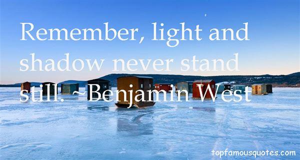 Benjamin West Quotes