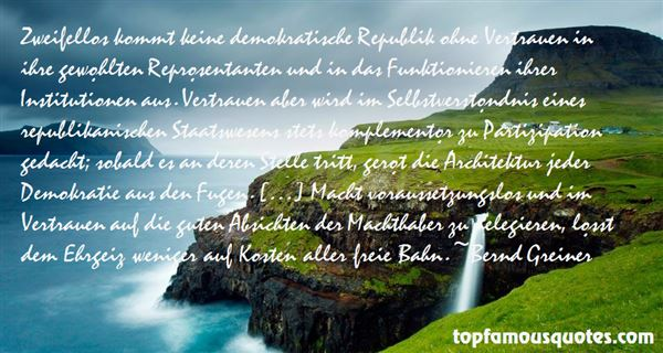 Bernd Greiner Quotes
