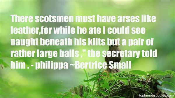 Bertrice Small Quotes