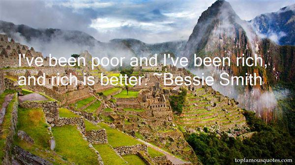 Bessie Smith Quotes