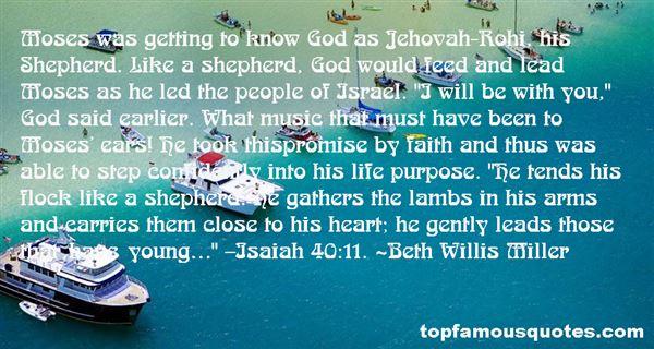 Beth Willis Miller Quotes