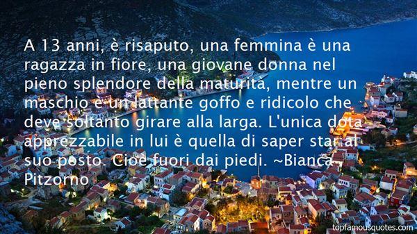 Bianca Pitzorno Quotes