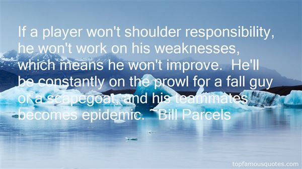 Bill Parcels Quotes
