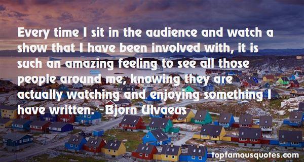 Bjorn Ulvaeus Quotes