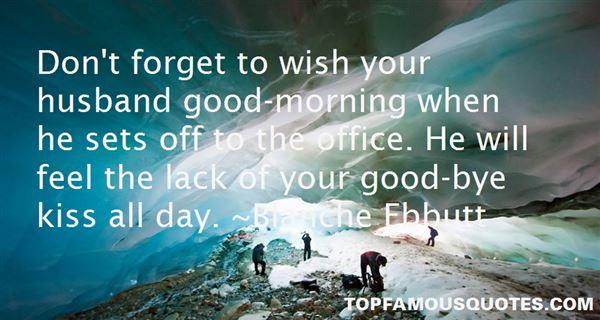 Blanche Ebbutt Quotes