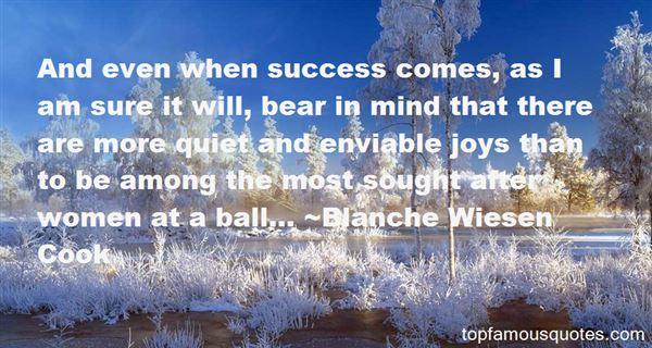 Blanche Wiesen Cook Quotes