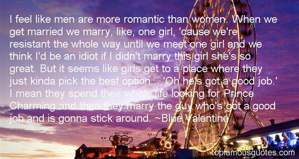 Blue Valentine Quotes