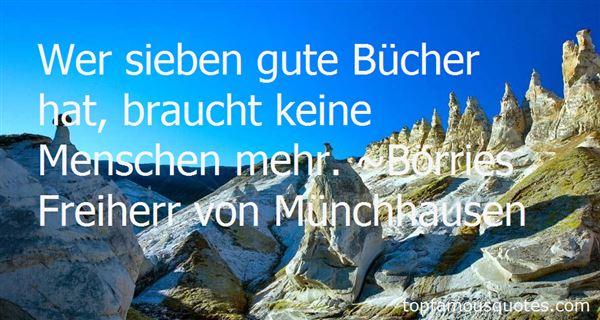 Börries Freiherr Von Münchhausen Quotes