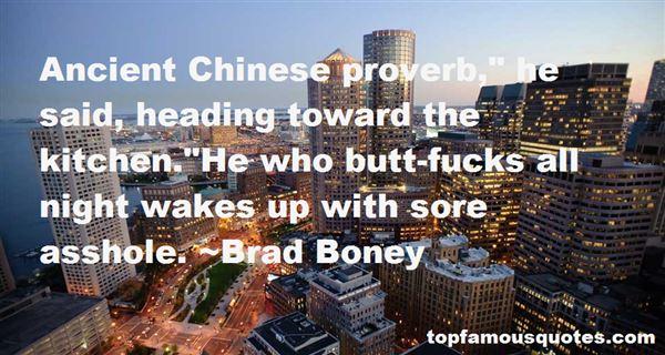 Brad Boney Quotes