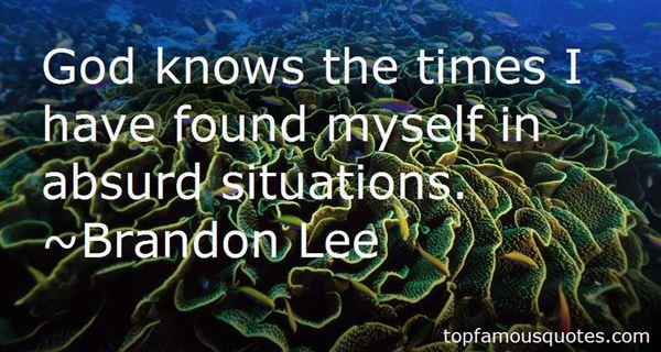 Brandon Lee Quotes