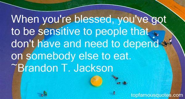 Brandon T. Jackson Quotes