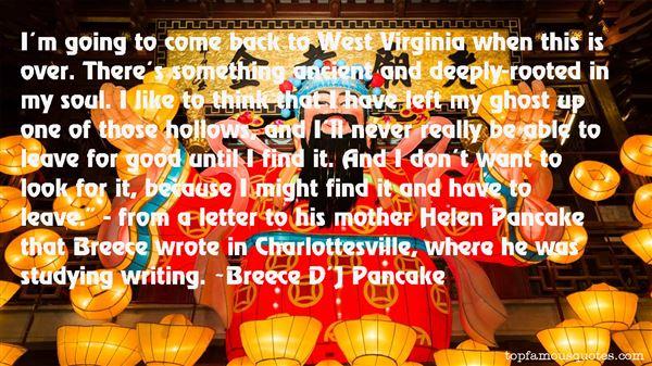 Breece D'J Pancake Quotes