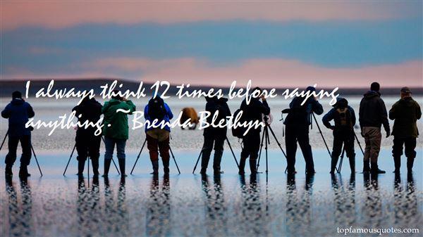 Brenda Blethyn Quotes