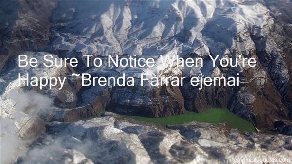 Brenda Farrar Ejemai Quotes