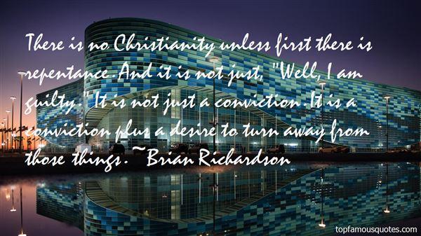 Brian Richardson Quotes