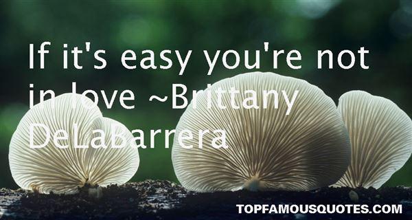 Brittany DeLaBarrera Quotes