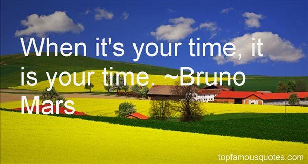 Bruno Mars Quotes