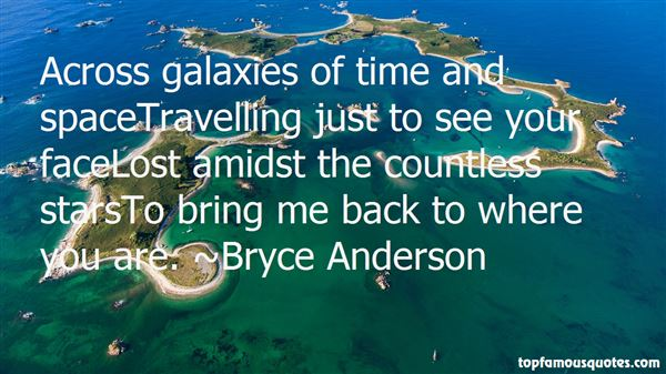 Bryce Anderson Quotes