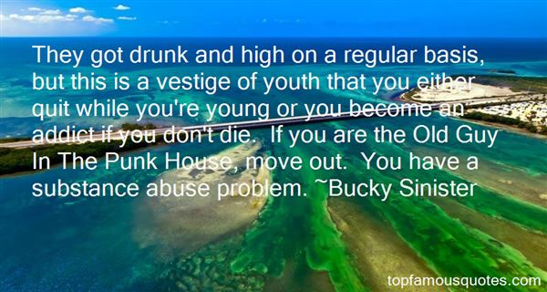 Bucky Sinister Quotes
