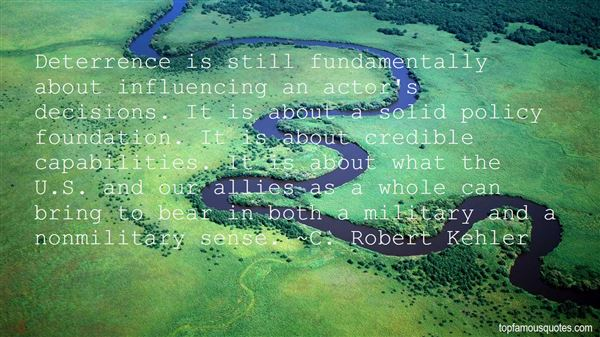 C. Robert Kehler Quotes