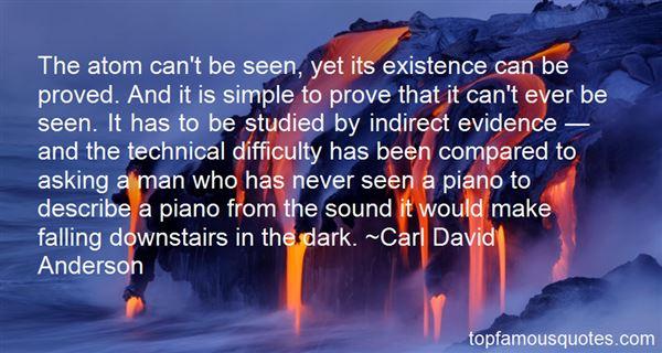 Carl David Anderson Quotes