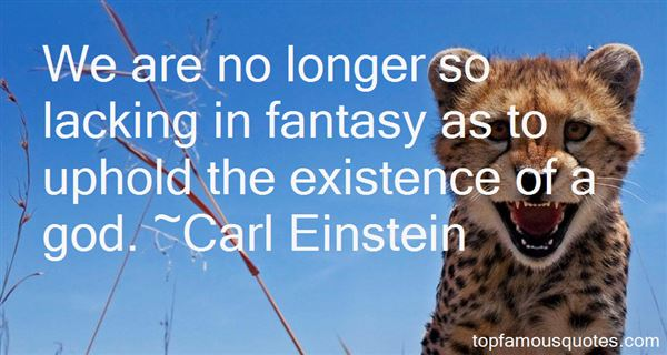Carl Einstein Quotes