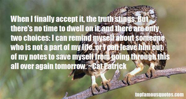 Cat Patrick Quotes