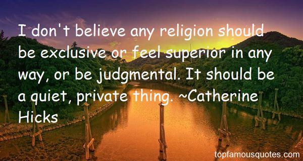 Catherine Hicks Quotes