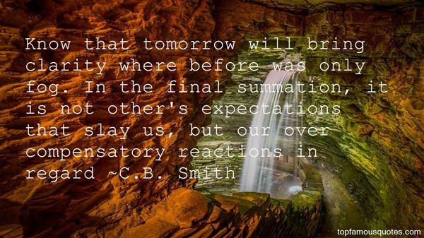 C.B. Smith Quotes