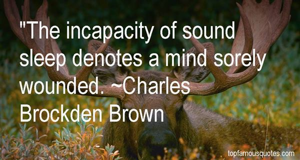 Charles Brockden Brown Quotes