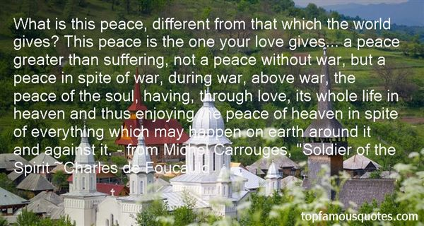 Charles De Foucauld Quotes