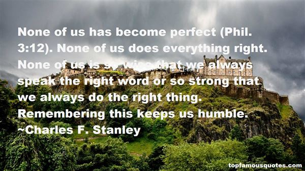 Charles F. Stanley Quotes