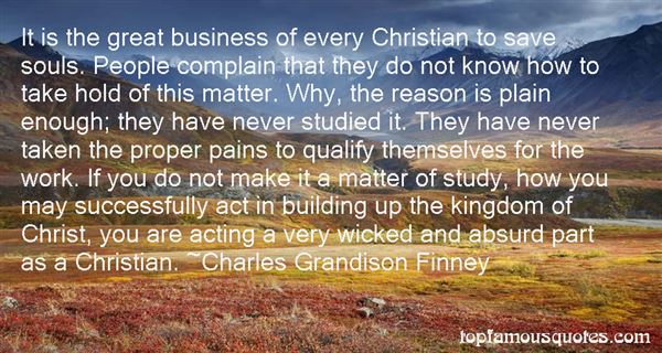 Charles Grandison Finney Quotes