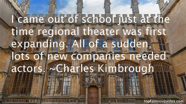 Charles Kimbrough Quotes