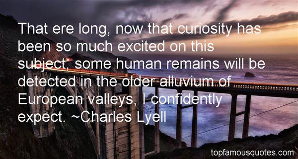 Charles Lyell Quotes
