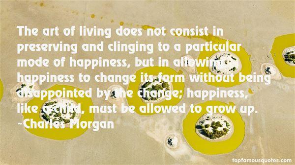 Charles Morgan Quotes