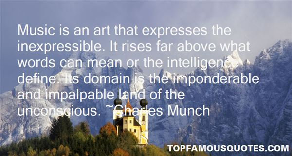 Charles Munch Quotes
