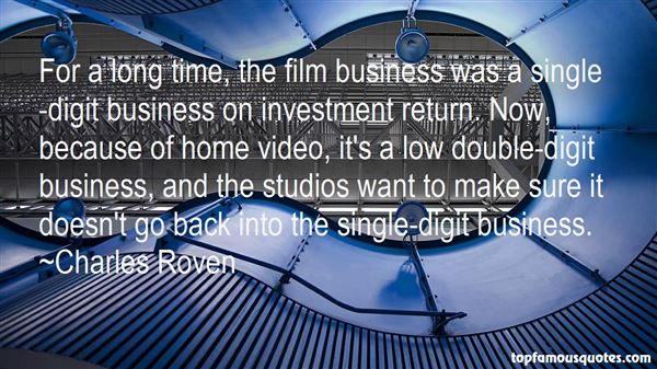 Charles Roven Quotes